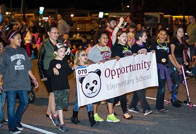 Hearts of Gold Parade - Opportunity Elementary