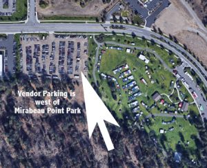Valleyfest Vendor Parking